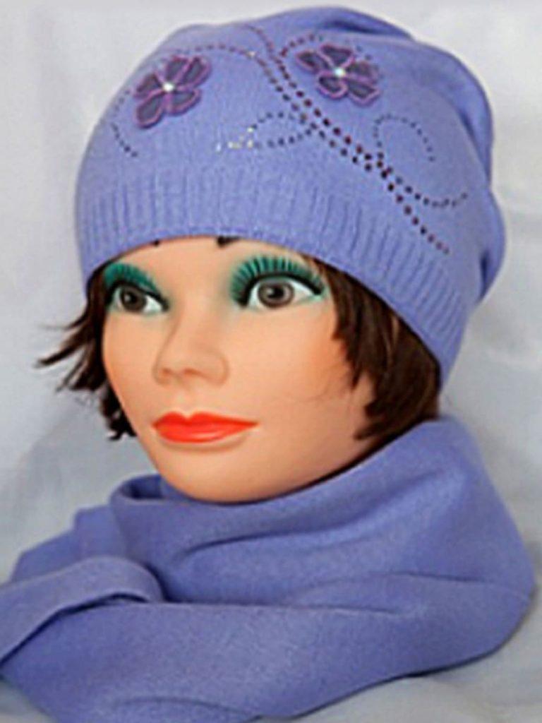 Комплект: шапка+шарф Комплект Лолита