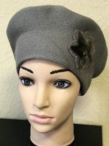 Берет женский Моника двойной-2